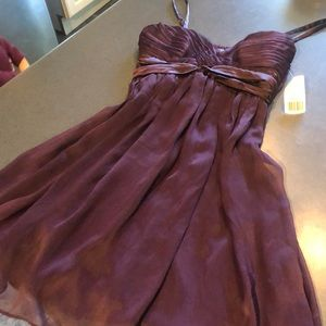 NWT deep purple dress